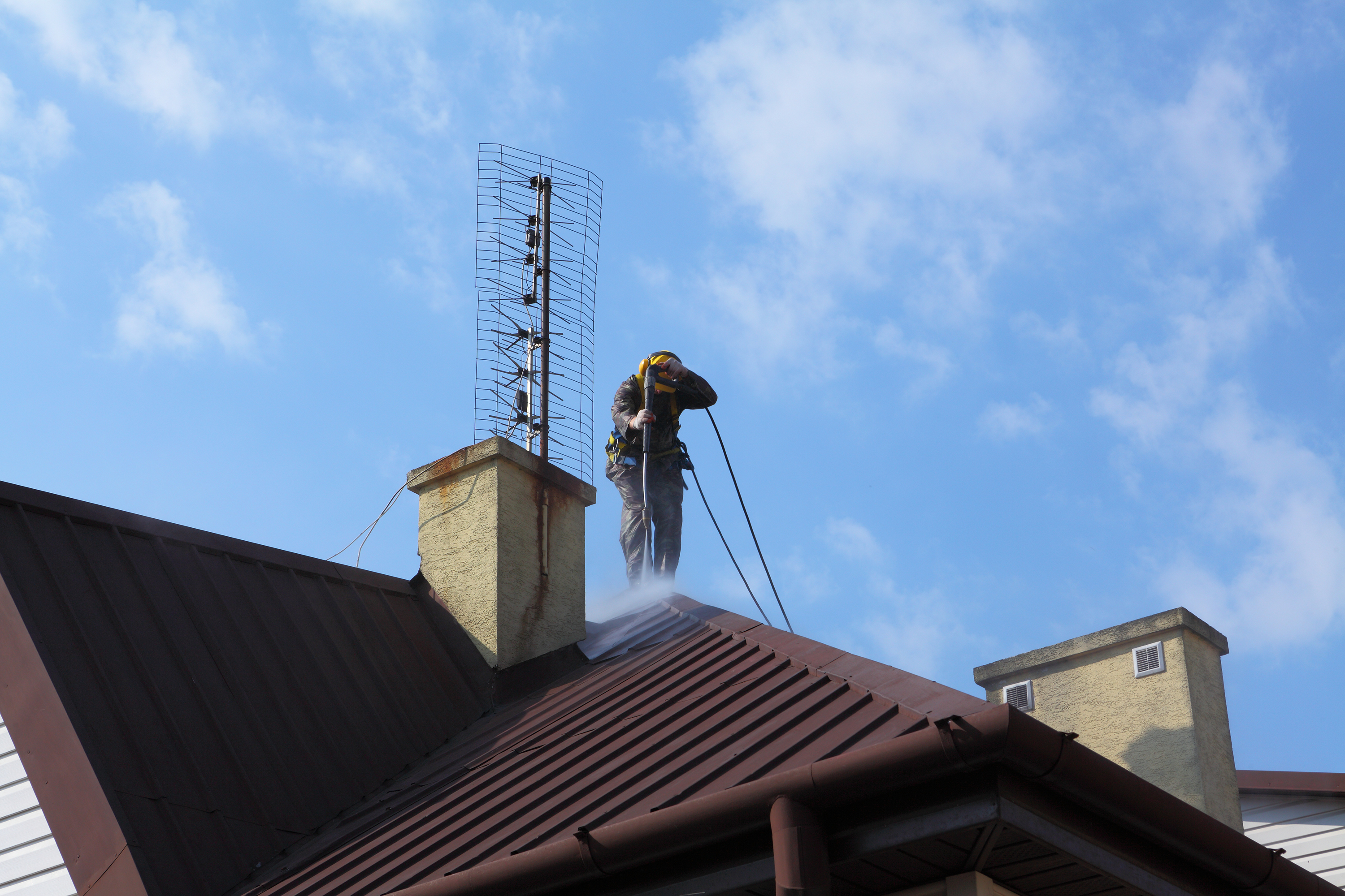 waco roof pressure washing services