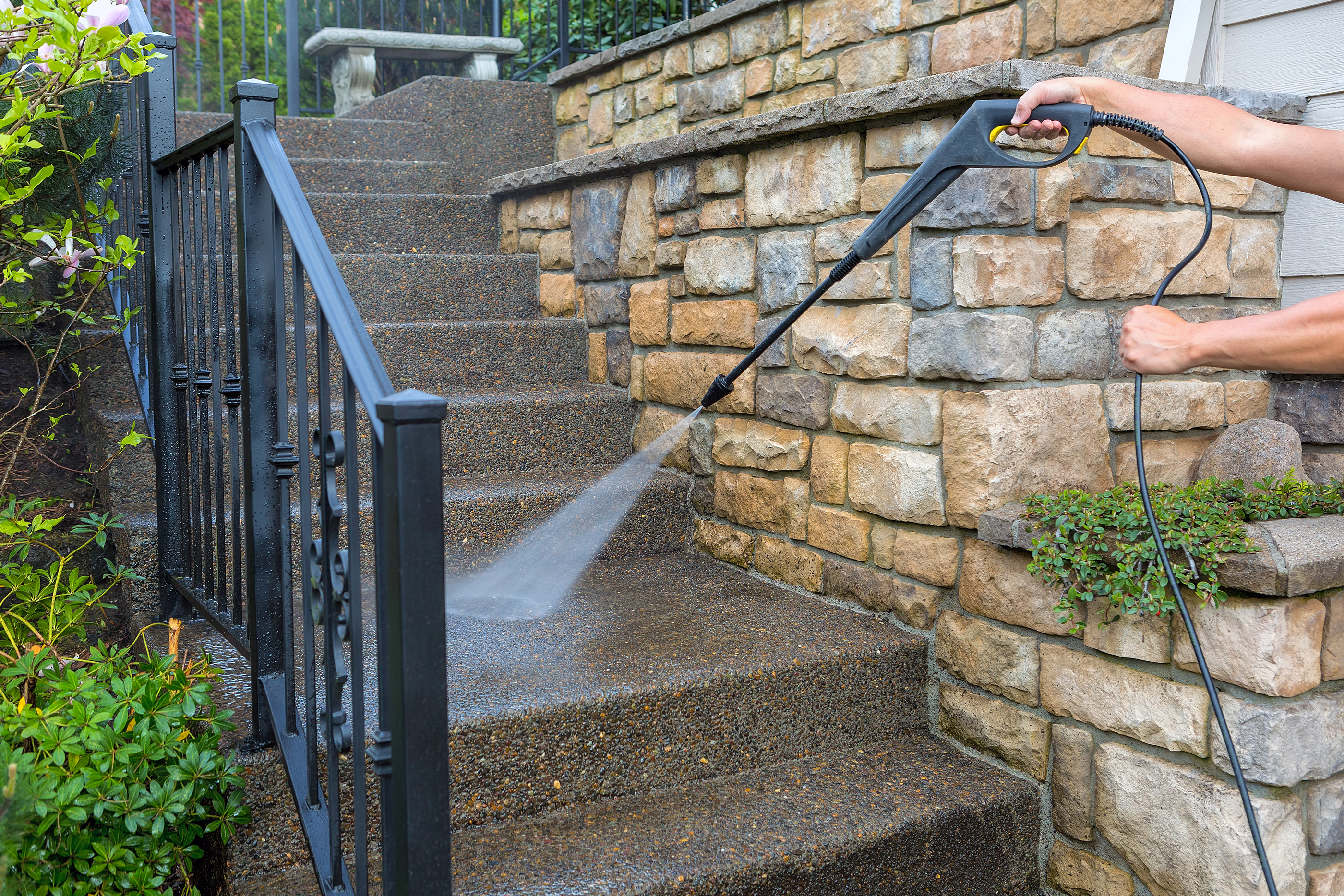 waco residential pressure washing services